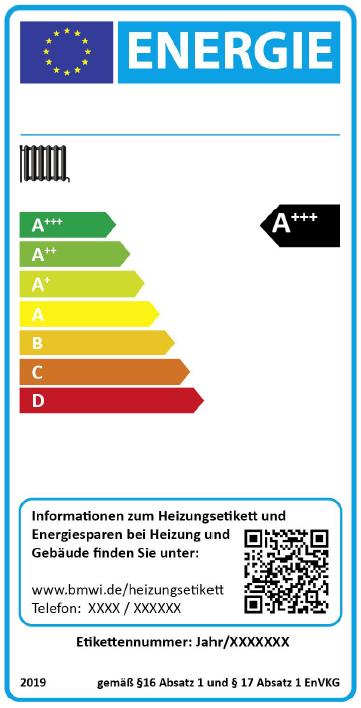 Neue Kennzeichnung für alte Heizungen ab 2016 ...